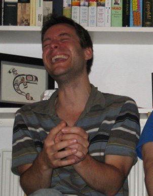 stockton laughing