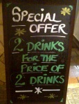 drinks special offer