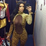 Kim Kardashian Leopard Halloween Costume