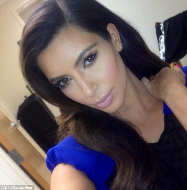 Kim Kardashian Self Photo Hot Twitter  21St Century Boy-2822