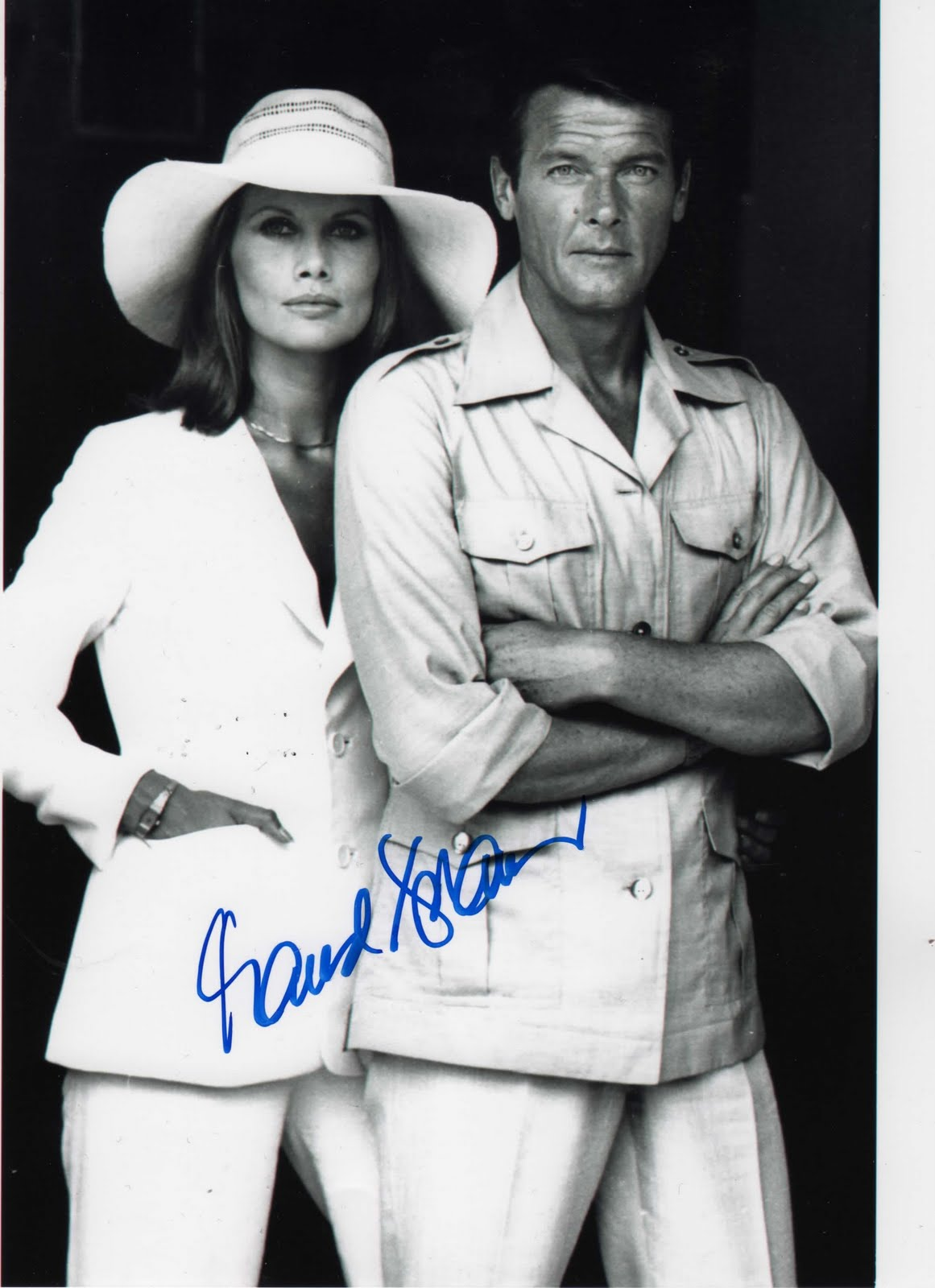 Andrea Anders Hot andrea anders maud adams man with the golden gun roger moore