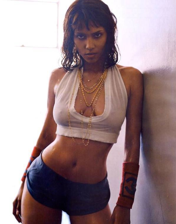 halle berry fake:
