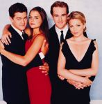 Katie Holmes, Joshua Jackson, Michelle Williams and James Van Der Beek