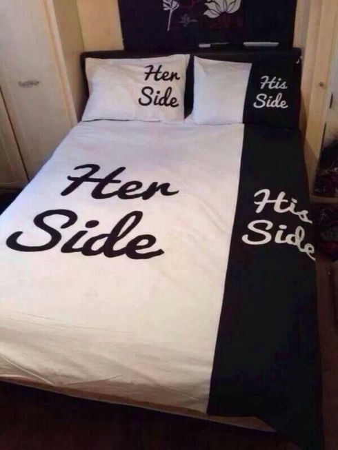 her side his side duvet covers
